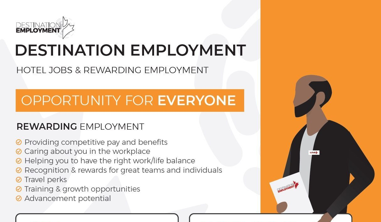 Hotel Jobs & Rewarding Employment (Infographic)